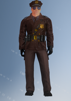 Cop - motorcycle - Iory - character model in Saints Row IV