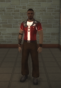 Low Detail NPC - 300mbrothersol - character model in Saints Row 2