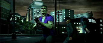 Mr. Wong with Johnny Gat in Saints Row 2