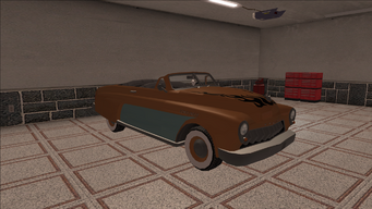 Saints Row variants - Gunslinger - Classic Convertible - front right