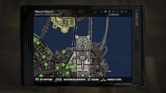 Secret Area - Phillips Building on map