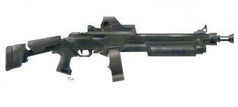 Ultimax Shotgun Concept Art
