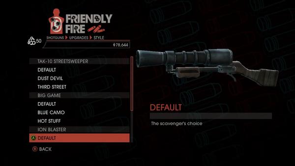 Weapon - Shotguns - Semi-Auto Shotgun - Ion Blaster - Default