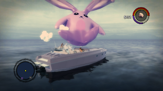 Cabbit knocked down by a Civilian
