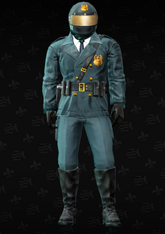 Cop - motorcycle - Austin - character model in Saints Row The Third