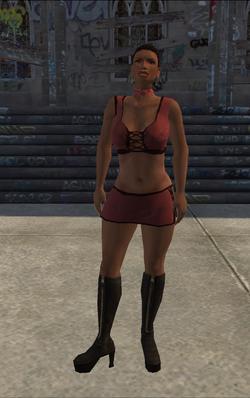 HO-02 - intro ho - character model in Saints Row