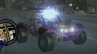 Mongoose - front right with lights in Saints Row 2