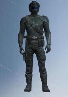Playa - Saints team 6 male with helmet - character model in Saints Row IV