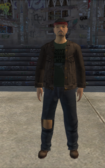 PoorTrash male - AsianTrash - character model in Saints Row