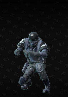 SWAT riot - Colin - character model in Saints Row The Third