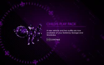 Saints Row IV DLC Unlock - Child's Play Pack