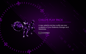 Saints Row IV DLC Unlock - Child's Play Pack