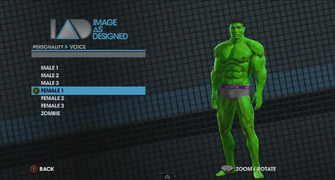 Saints Row The Third Player Customization promo - Hulk