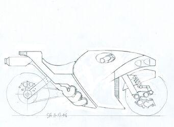 Shogo Akuji's Kaneda 2nd sketch