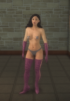 Stripper female b - asian Pastie - character model in Saints Row 2