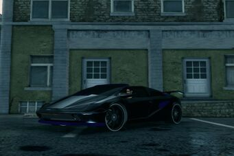 Attrazione - custom Black and Purple paint in Saints Row The Third
