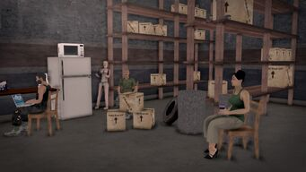 Donnie's - Interior in Saints Row 2 - storeroom