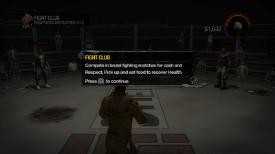 Fight Club tutorial in Saints Row 2
