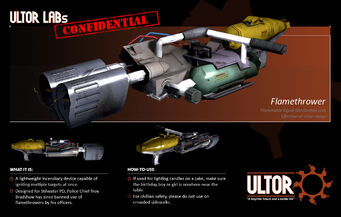 Flamethrower promo