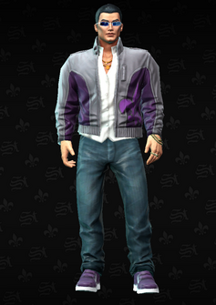 Johnny Gat - character model in Saints Row The Third
