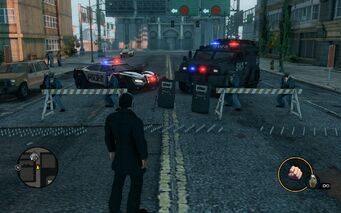 Roadblock with Lockdown and Peacemaker in Saints Row The Third
