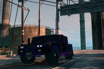 Bulldog - front left low in Saints Row The Third