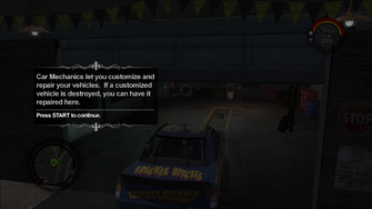Car Mechanic tutorial text