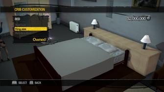 Hotel Penthouse - Crib Customization - Bed - King size