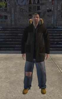 Hustler - white collar - character model in Saints Row