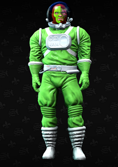Luchador space 4 - Casey - character model in Saints Row The Third
