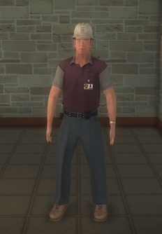 Nuclear - white - character model in Saints Row 2