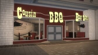 Rounds Square Shopping Center - Cousin Boo Boo's BBQ