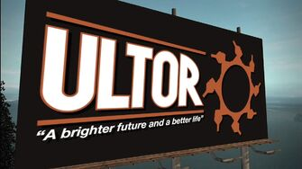 Ultor Sign in Saints Row 2 Vehicles and Weapons trailer