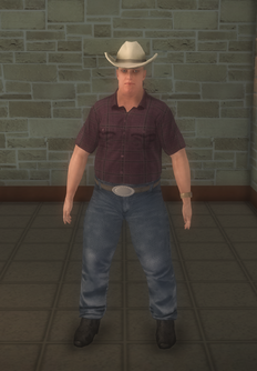 Cowboy - pudgy - character model in Saints Row 2