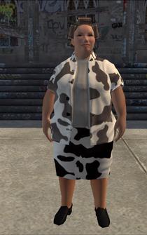 FatLady - cow w - character model in Saints Row