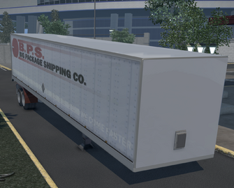 Flatbed trailer with Box - BPS