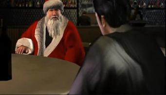 Ho Ho Ho Pack - Santa outfit during Rico Suave cutscene