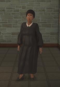 Judge female - black judge - character model in Saints Row 2
