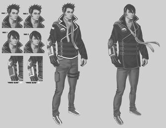 Matt Miller - early Saints Row The Third Concept Art