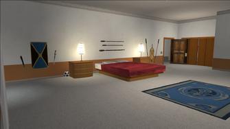 Price Mansion - large bedroom