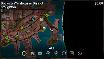 Stoughton map in Saints Row