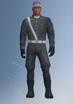 Cop - ZPD - character model in Saints Row IV