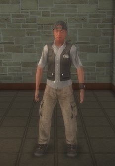 Paparazzi - white - character model in Saints Row 2