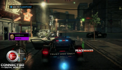 Peacemaker - rear with logo in Saints Row IV
