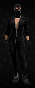 SRTT Outfit - leather and lace suit (female)