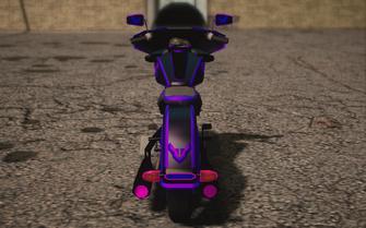 Saints Row IV variants - Cyber Estrada Chopshop - rear