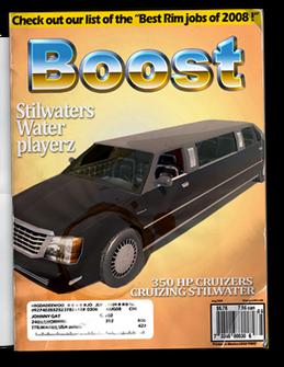 Status Quo - Chop Shop magazine