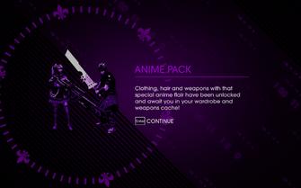 Anime Pack - unlock screen