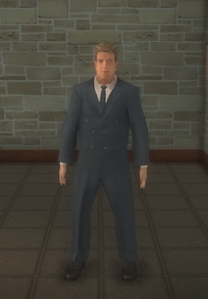 Business male - doorman white - character model in Saints Row 2