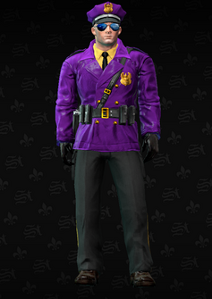 Gang Customization - Cop 1 - John - in Saints Row The Third